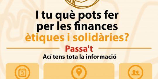 Exposició Finances ètiques i solidàries. 4 oct