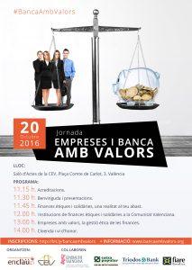 cartel Empresas y Banca con Valores
